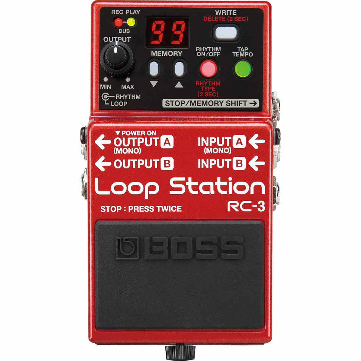 Shop online for Boss RC-3 Loop Station Effect Pedal today.  Now available for purchase from Midlothian Music of Orland Park, Illinois, USA