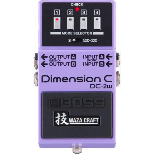 Shop online for Boss DC-2W Dimension C Effect Pedal today.  Now available for purchase from Midlothian Music of Orland Park, Illinois, USA