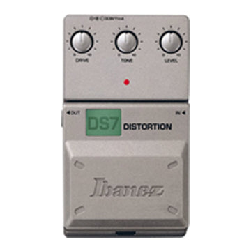 Shop online for Ibanez Tone-Lok DS7 Distortion Effect Pedal today.  Now available for purchase from Midlothian Music of Orland Park, Illinois, USA