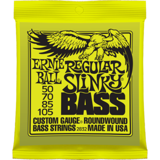 Ernie Ball Regular Slinky Nickel Roundwound Electric Bass Strings