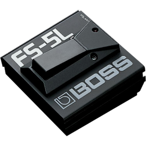 Shop online for Boss FS-5L Footswitch today.  Now available for purchase from Midlothian Music of Orland Park, Illinois, USA