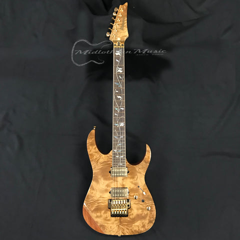 Ibanez RG8520LTDNT J. Custom Electric Guitar Marblewood