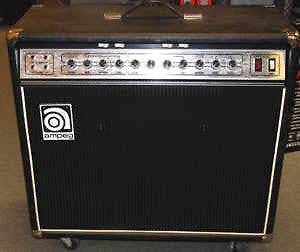 Vintage 70's Ampeg G212 Solid State Electric Guitar Amplifier