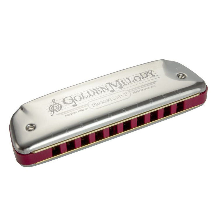 Hohner 542 Golden Melody Diatonic Harmonica Key of D