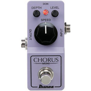 Shop online for Ibanez CSMINI Mini Chorus Pedal today.  Now available for purchase from Midlothian Music of Orland Park, Illinois, USA