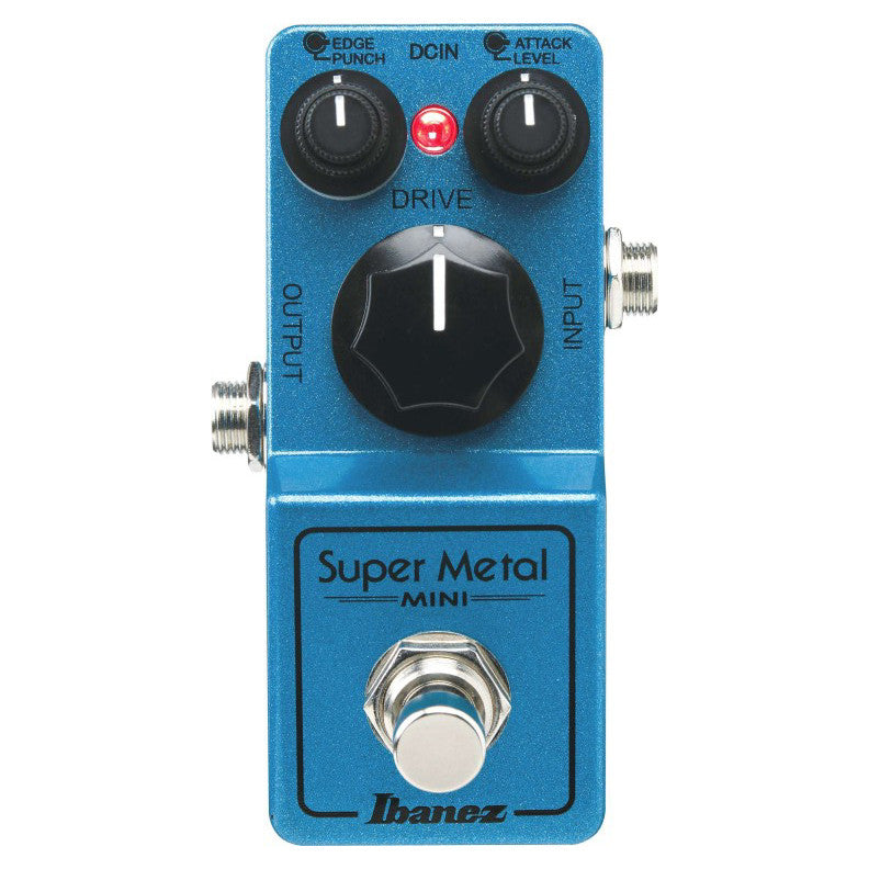 Shop online for Ibanez SMMINI Mini Super Metal Distortion Pedal today. Now available for purchase from Midlothian Music of Orland Park, Illinois, USA