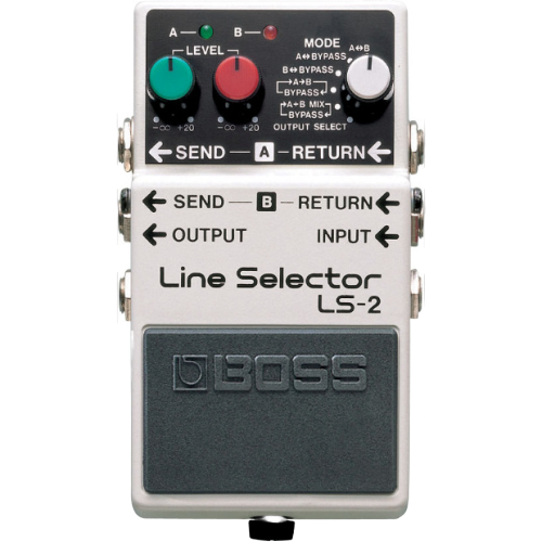Shop online for Boss LS-2 Line Selector today.  Now available for purchase from Midlothian Music of Orland Park, Illinois, USA