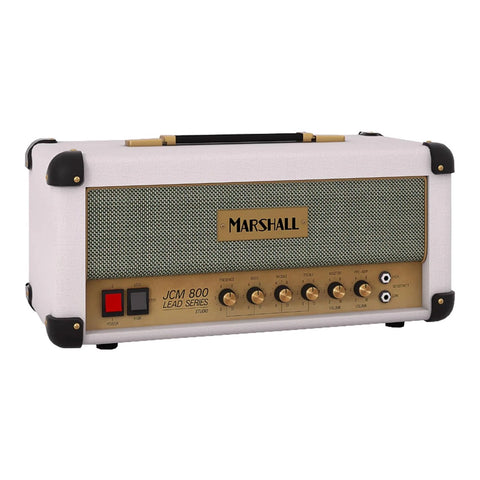 Marshall SC20H-WH 20 Watt/5 Watt Tube Amp Head White Elephant