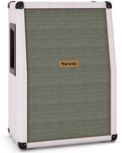 "Marshall SC212-WH 140 Watt 2x12"" Vertical Speaker Cabinet White Elephant"