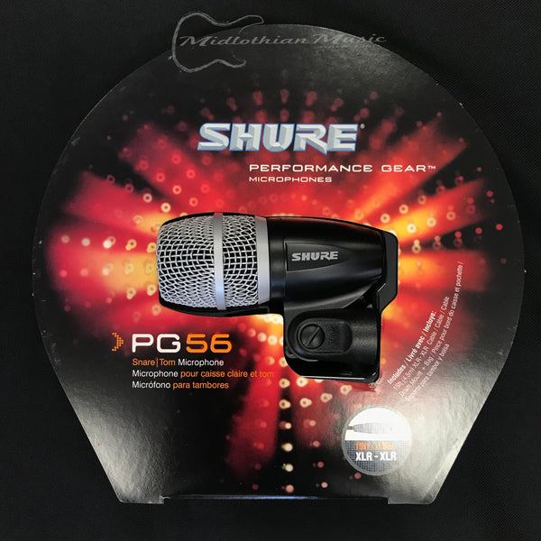 Shure PG56 Snare/Tom Microphone Package