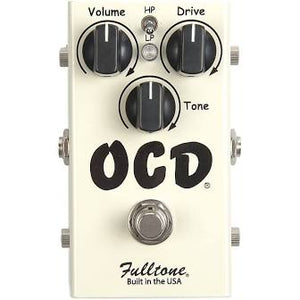 Shop online for Fulltone OCD Obsessive Compulsive Drive Pedal V2 Used Mint Condition today.  Now available for purchase from Midlothian Music of Orland Park, Illinois, USA