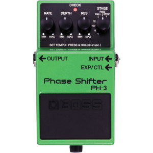 Shop online for Boss PH-3 Phase Shifter Pedal today.  Now available for purchase from Midlothian Music of Orland Park, Illinois, USA