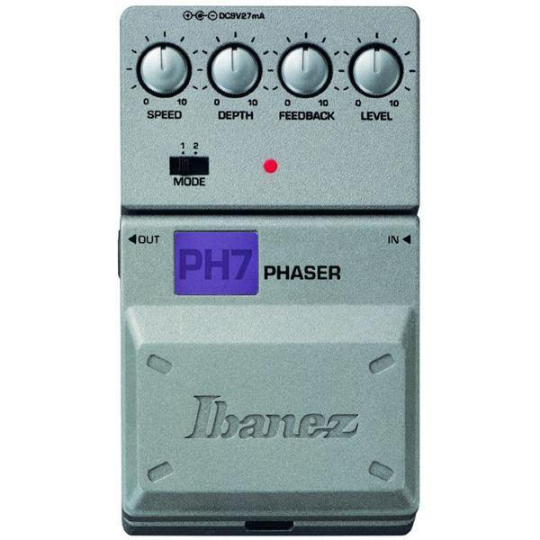 Shop online for Ibanez Tone-Lok PH7 Phaser Effect Pedal today.  Now available for purchase from Midlothian Music of Orland Park, Illinois, USA