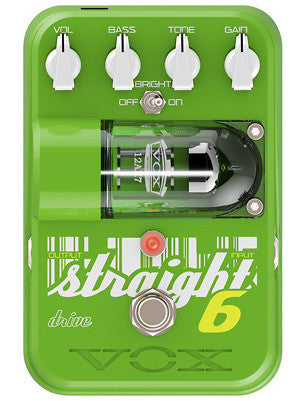 Vox Straight 6 Drive Pedal Guitar Effects