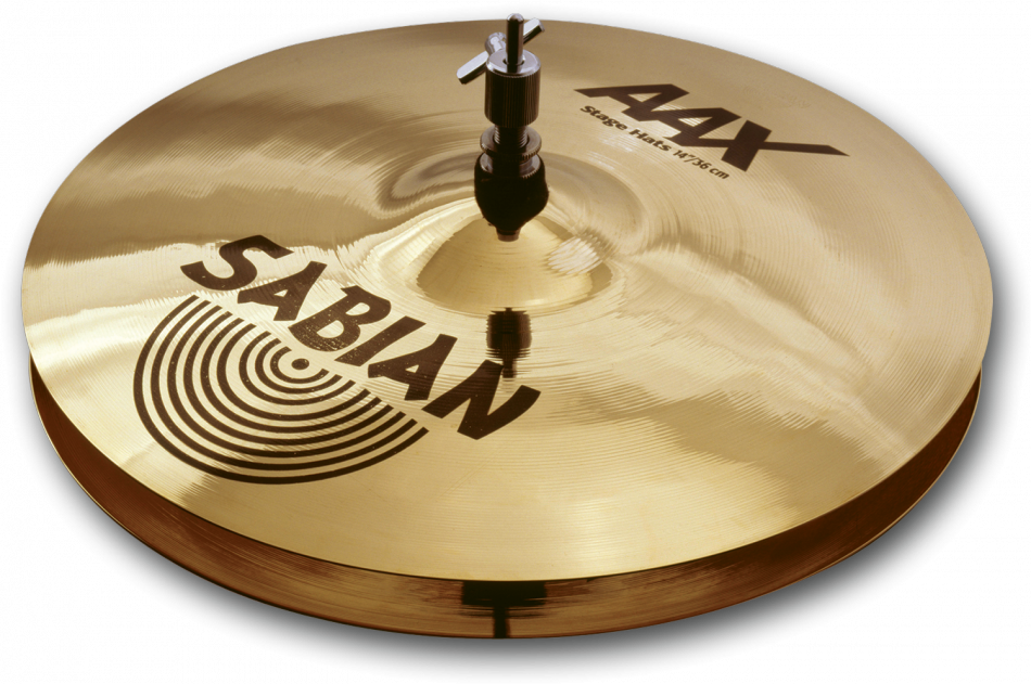 "Shop online for Sabian 14"" AAX Stage Hi Hats today.  Now available for purchase from Midlothian Music of Orland Park, Illinois, USA"