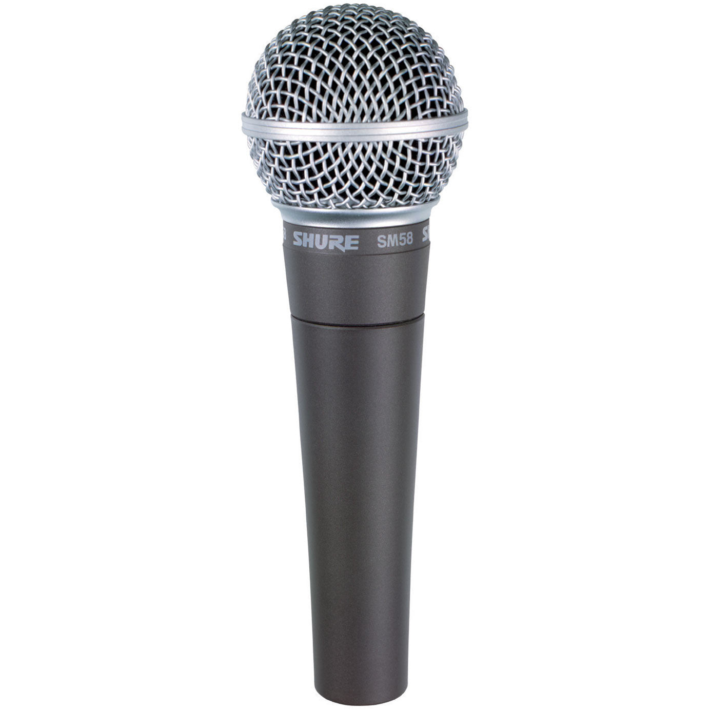 Shop online for Shure SM58-LC Vocal Performance Microphone today. Now available for purchase from Midlothian Music of Orland Park, Illinois, USA