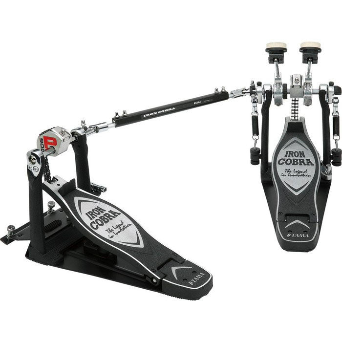 Shop online for Tama HP900PTW Iron Cobra Twin Bass Drum Pedal today. Now available for purchase from Midlothian Music of Orland Park, Illinois, USA