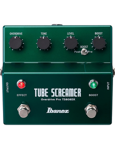 Shop online for Ibanez Overdrive Pro TS808DX Tube Screamer Effect Pedal today. Now available for purchase from Midlothian Music of Orland Park, Illinois, USA