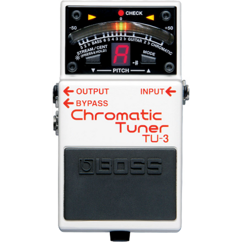 Shop online for Boss TU-3 Guitar Pedal Tuner today.  Now available for purchase from Midlothian Music of Orland Park, Illinois, USA