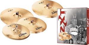 Shop online for Zildjian ZXT Pro 4 Drum Cymbal Pack today.  Now available for purchase from Midlothian Music of Orland Park, Illinois, USA