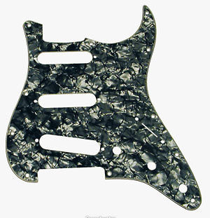 Shop online for Fender 099-2141-000 Black Moto Pickguard today.  Now available for purchase from Midlothian Music of Orland Park, Illinois, USA