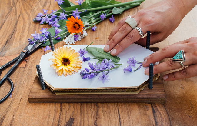 How To Press Flowers And Preserve The Magic Of Spring Pistils