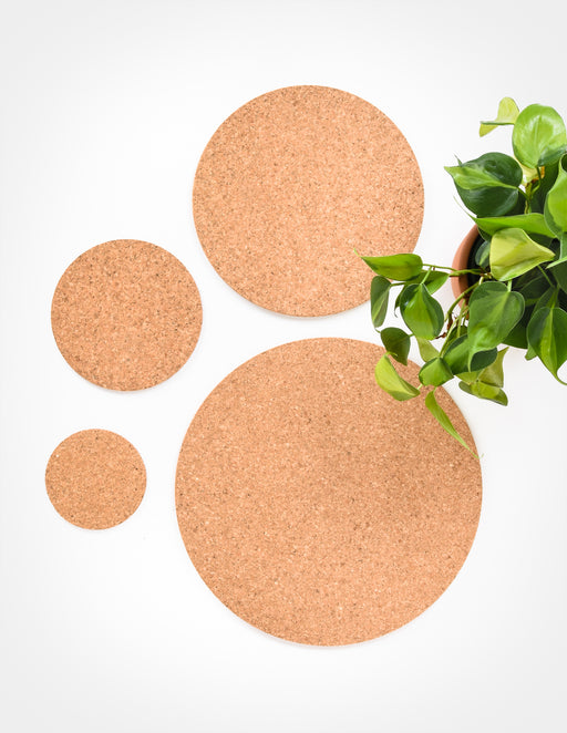 Cork Mat - Pads for under Plants - Pistils Nursery