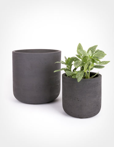 Fiberstone Cylinder - Charcoal