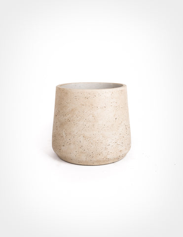 Fiberstone Tapered Cylinder - Warm Grey