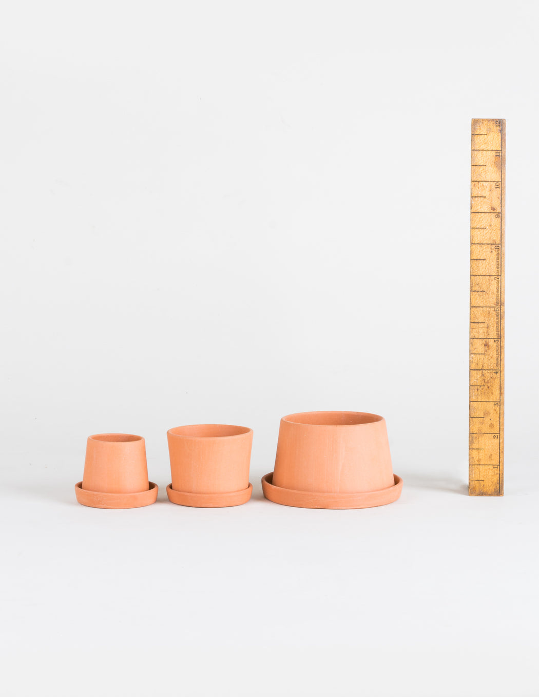 MIchiko Shimada Terracotta Mini Planter Set - Pistils Nursery