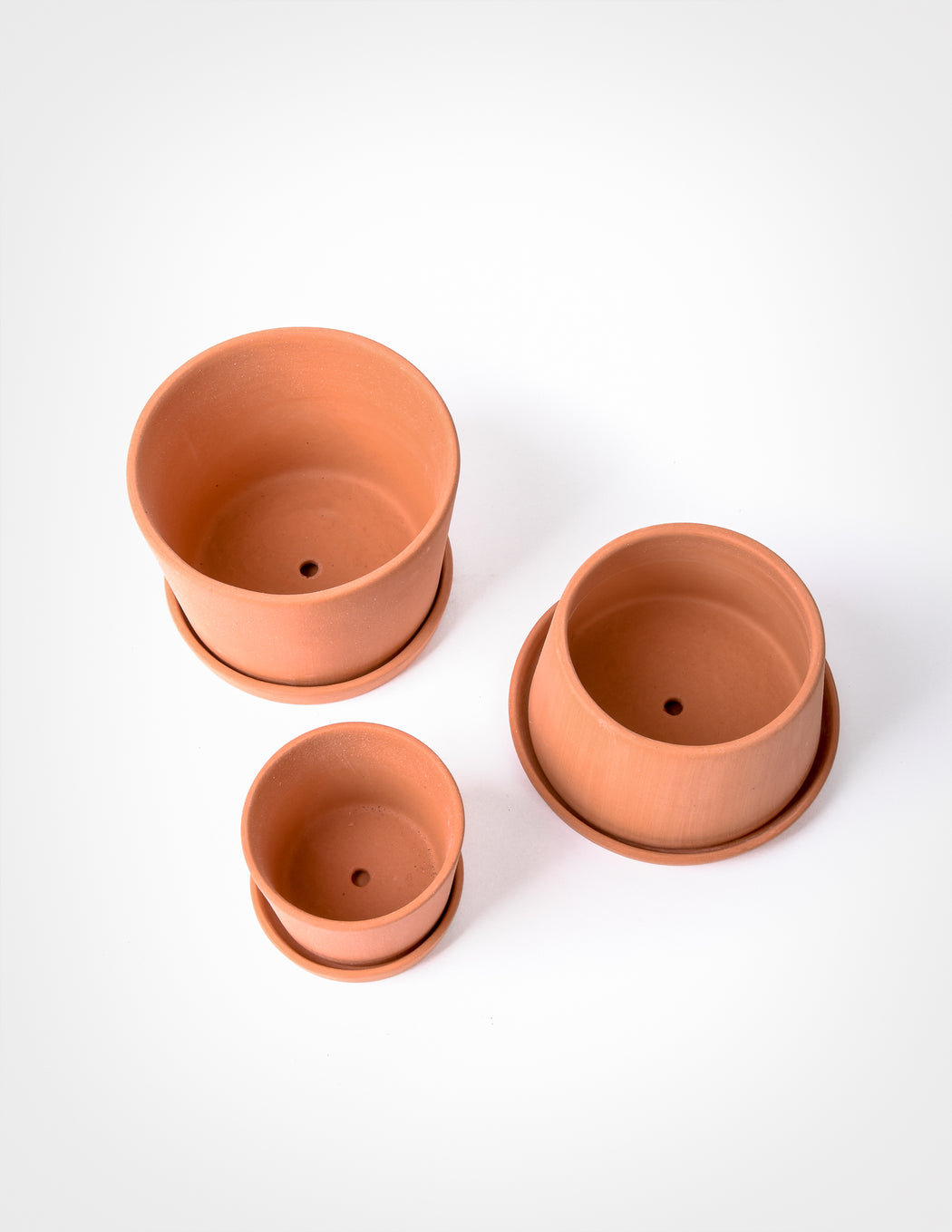 Terracotta Mini Planter Set - Michiko Shimada - Pistils Nursery