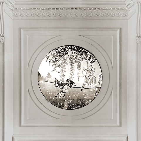 Illuminated Scene in the Royal Suite of Claridge's in London