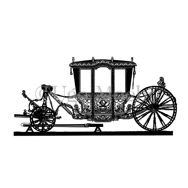 Historic Ornate Carriage Carriage  No.1