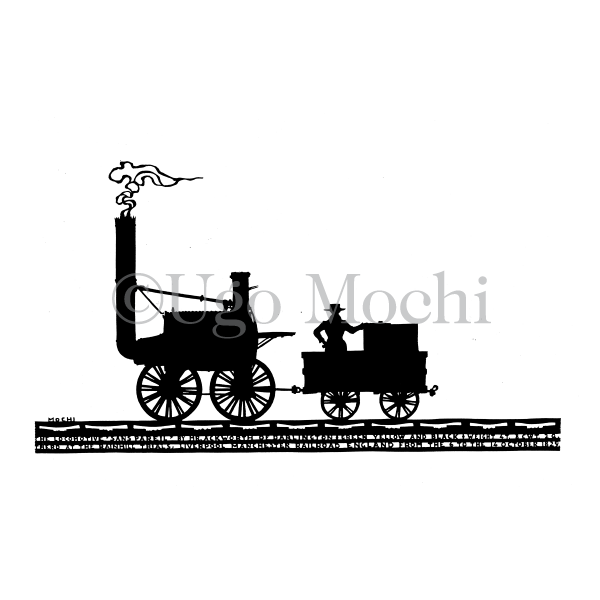 "English ""Sans Pareil"" locomotive (1829)"