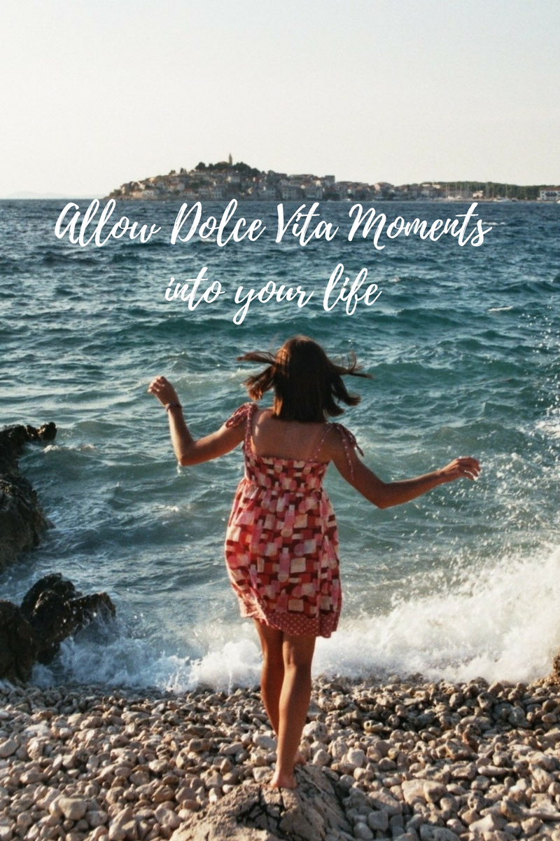A year to embrace the Dolce Vita