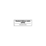 Brother White Standard Address Paper Labels - DK1201