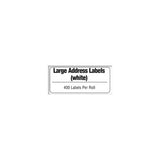Brother White Large Address Paper Labels - DK1208