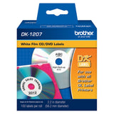 Brother White CD / DVD Film Labels - DK1207