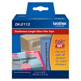 Brother Clear Continuous Length Film Tape - DK2113