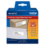 Brother White Continuous Length Paper Tape - DK2210