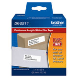 Brother White Continuous Length Film Tape - DK2211
