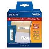 Brother White Continuous Length Paper Tape - DK2214
