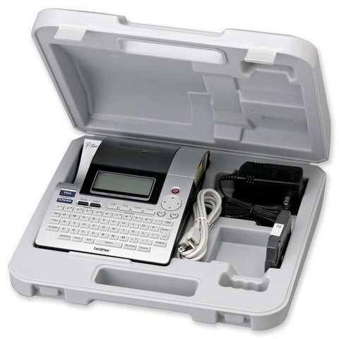 Brother PT-2710 Label Maker with Case ** DEMO MODEL **