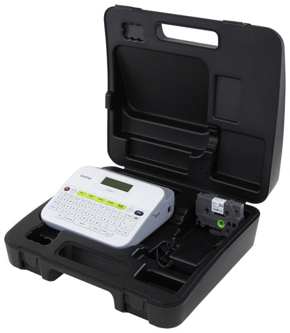 Brother PT-D400VP Label Maker with Ac Adapter & Carrying Case