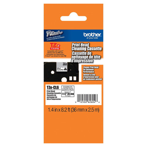 "Brother 1 1/2"" Cleaning Tape - TZeCL6"