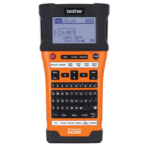 Brother PT-E500 Label Printer Kit