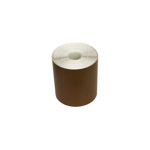 "K-Sun 4"" x 100' Brown Supply Roll - 4153"