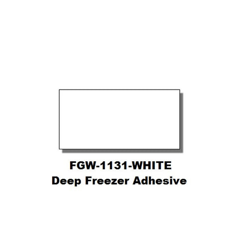 Monarch 1131 White Labels (Deep Freezer Adhesive) (8 rolls) - FGW-WHITE