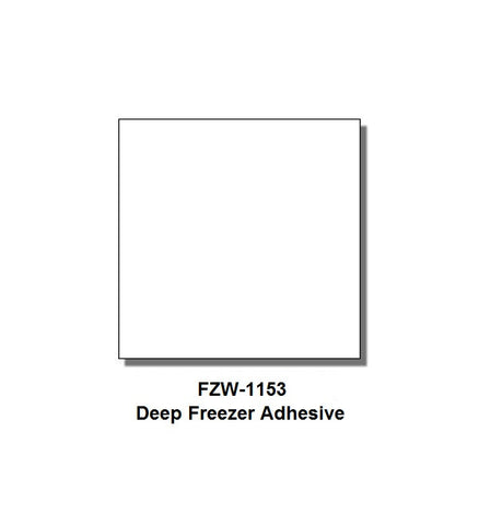 Monarch 1153 & 1175 White (Deep Freezer Adhesive) Labels (6 rolls) - FZW-1153