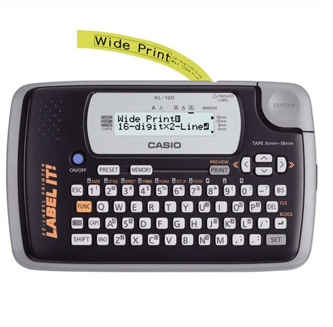 Casio KL-120 Label Maker